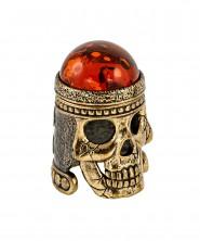 Наперсток череп с магнитом 2883