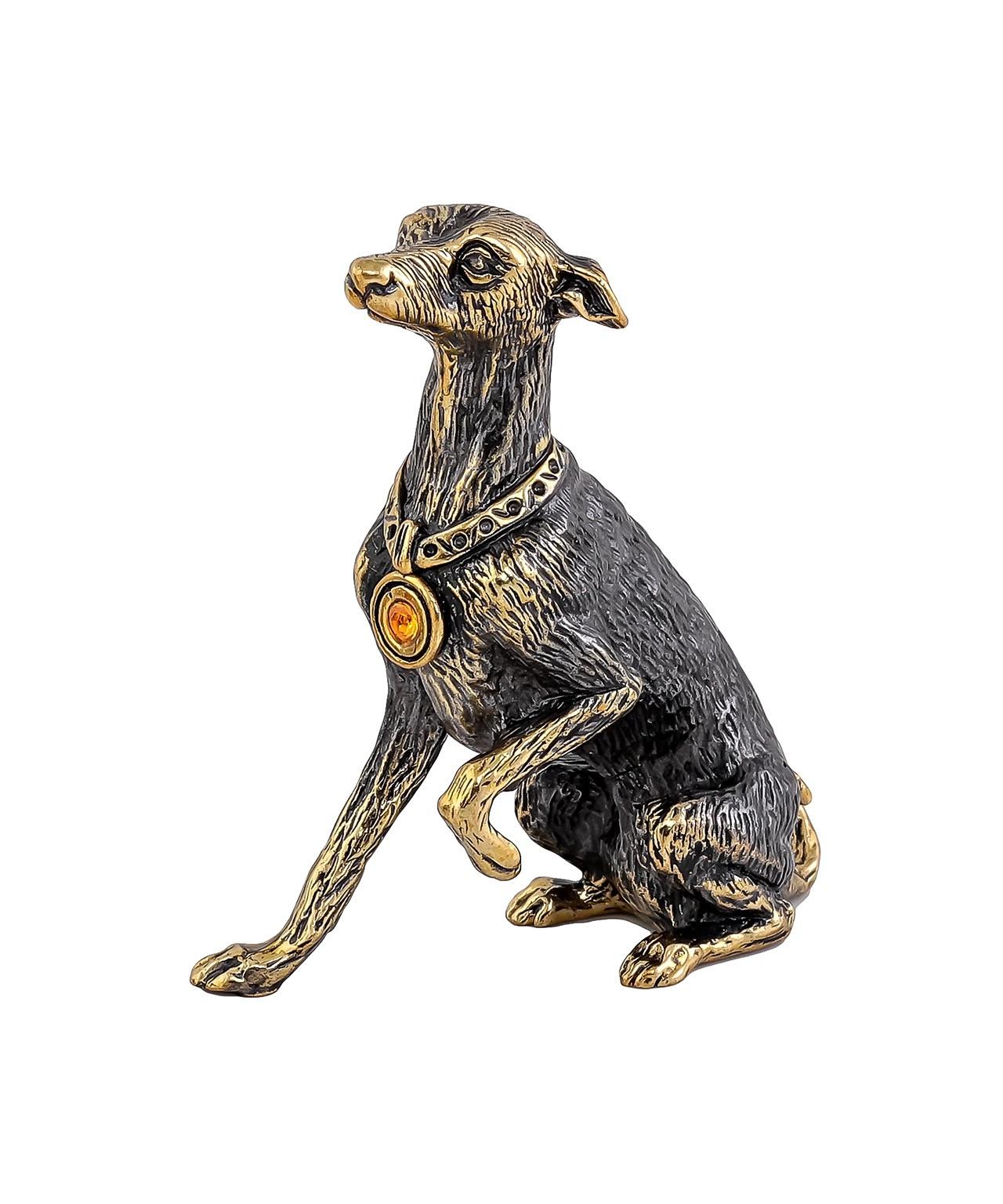 Собака Левретка без подставки 1028.1