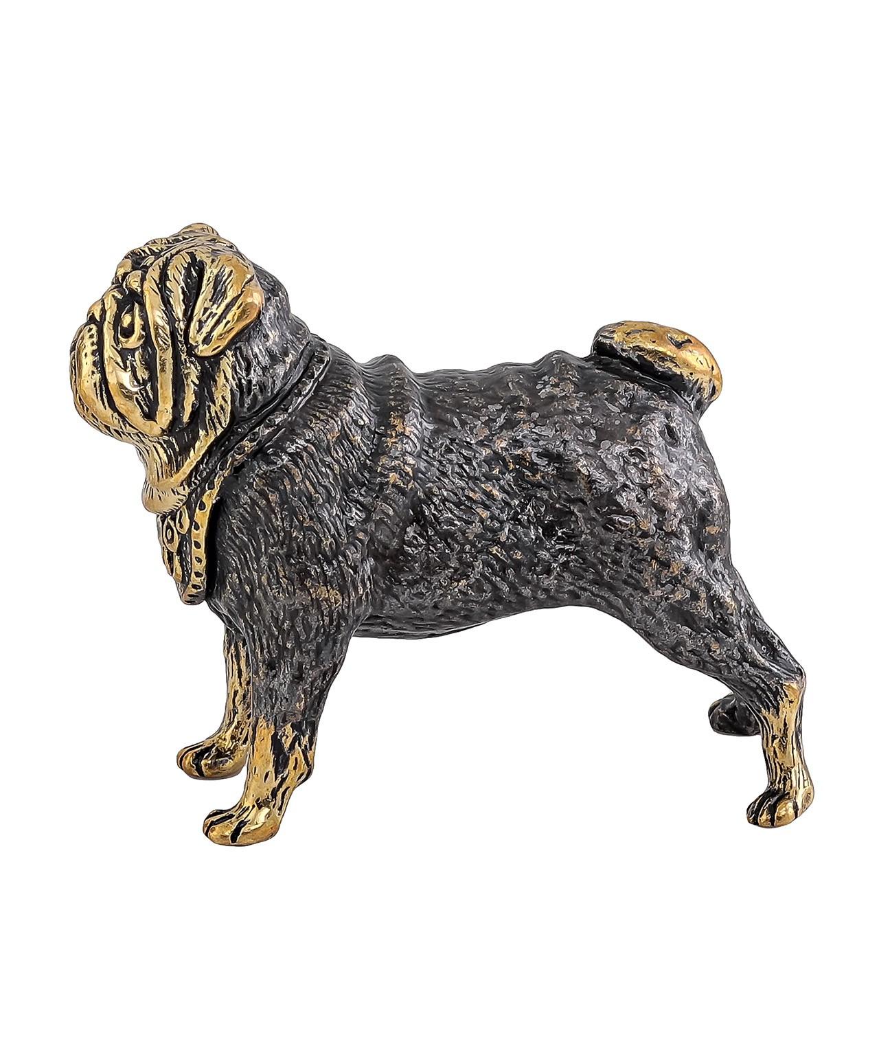 Собака Мопс без подставки 1030.1