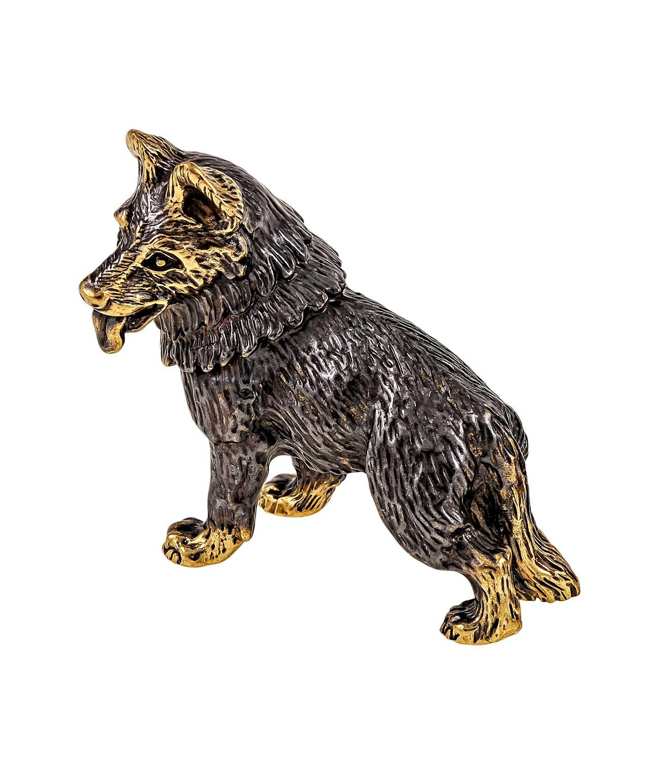 Собака Овчарка Стоит без подставки 1054.1