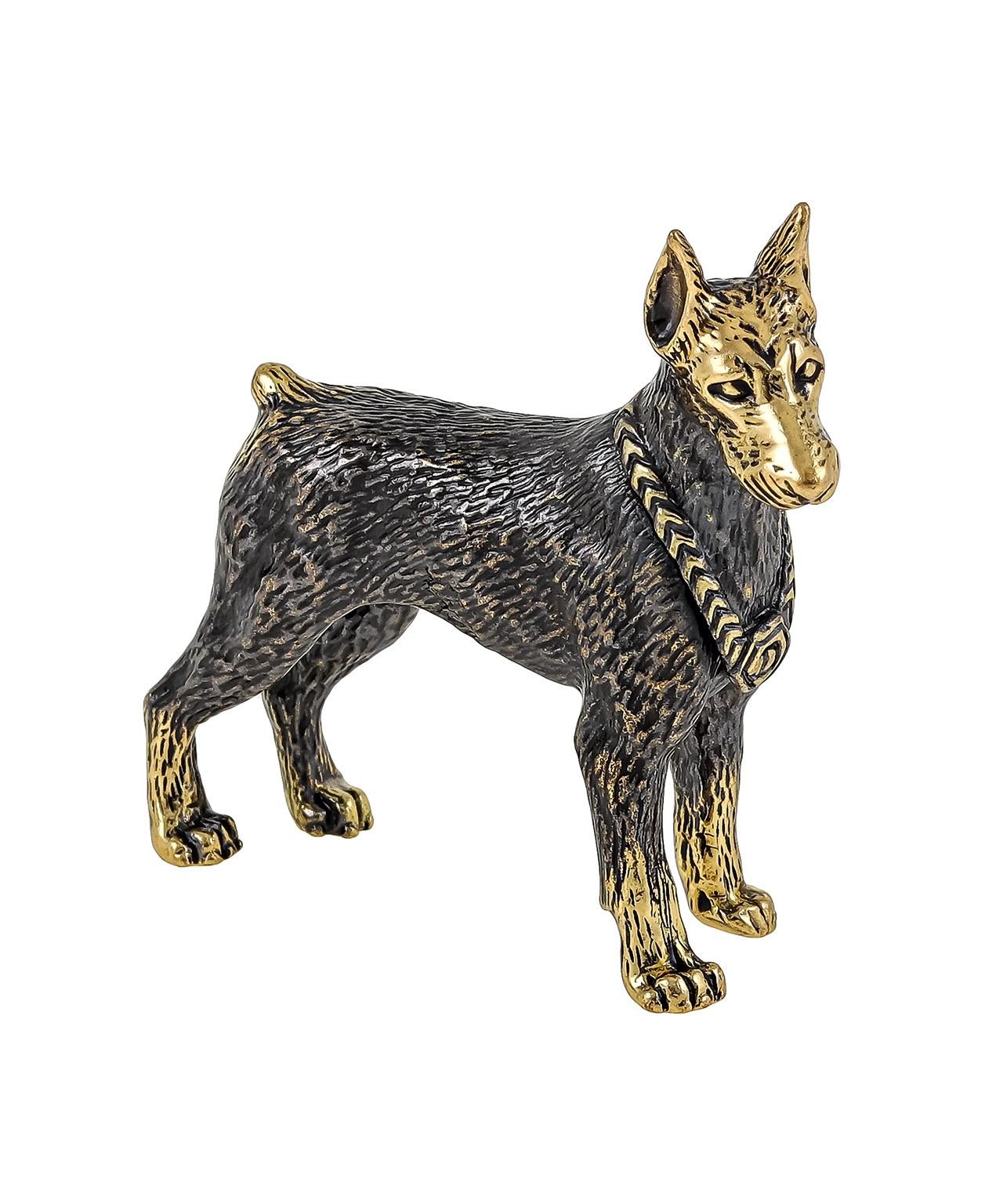 Собака Доберман без подставки 1076.1