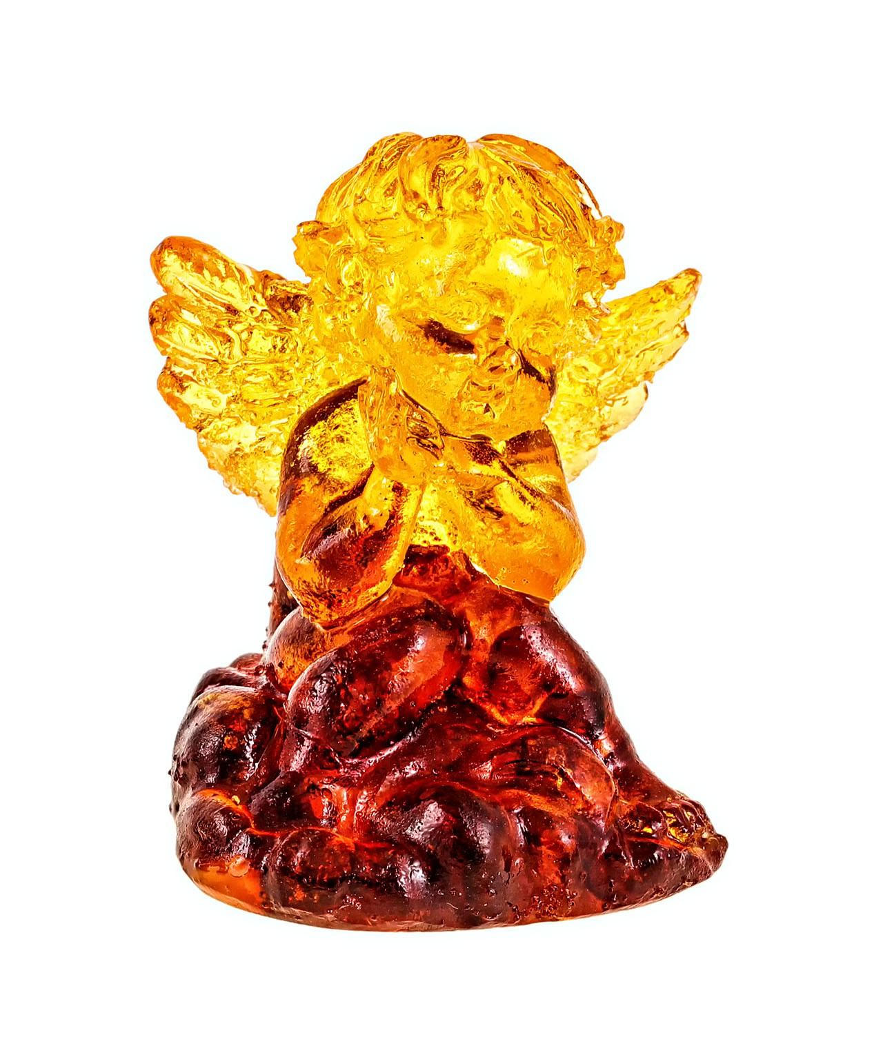 Ангел Грустный Янтарный 1324