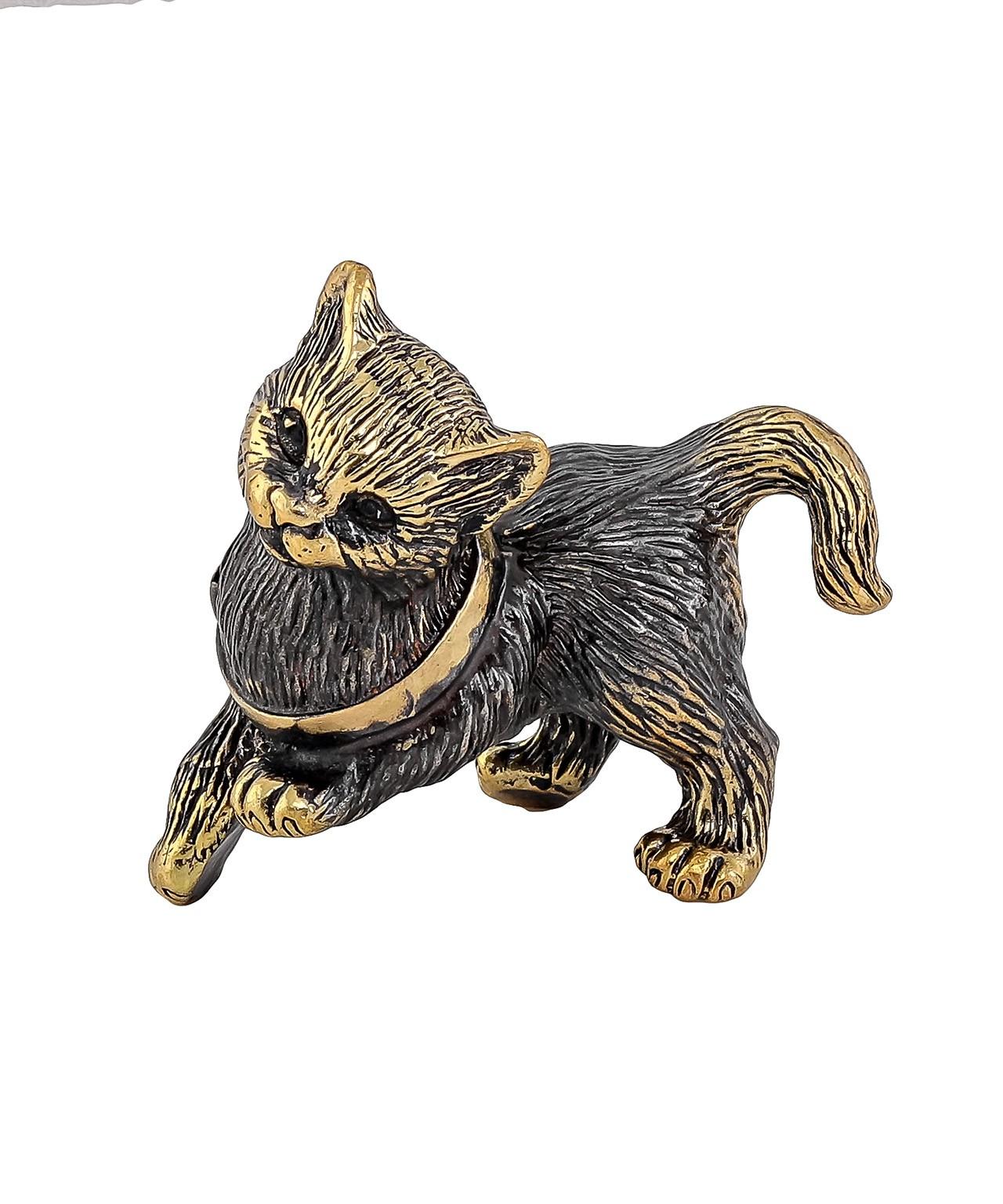 Котик игривый с бантиком б/п 1538.1