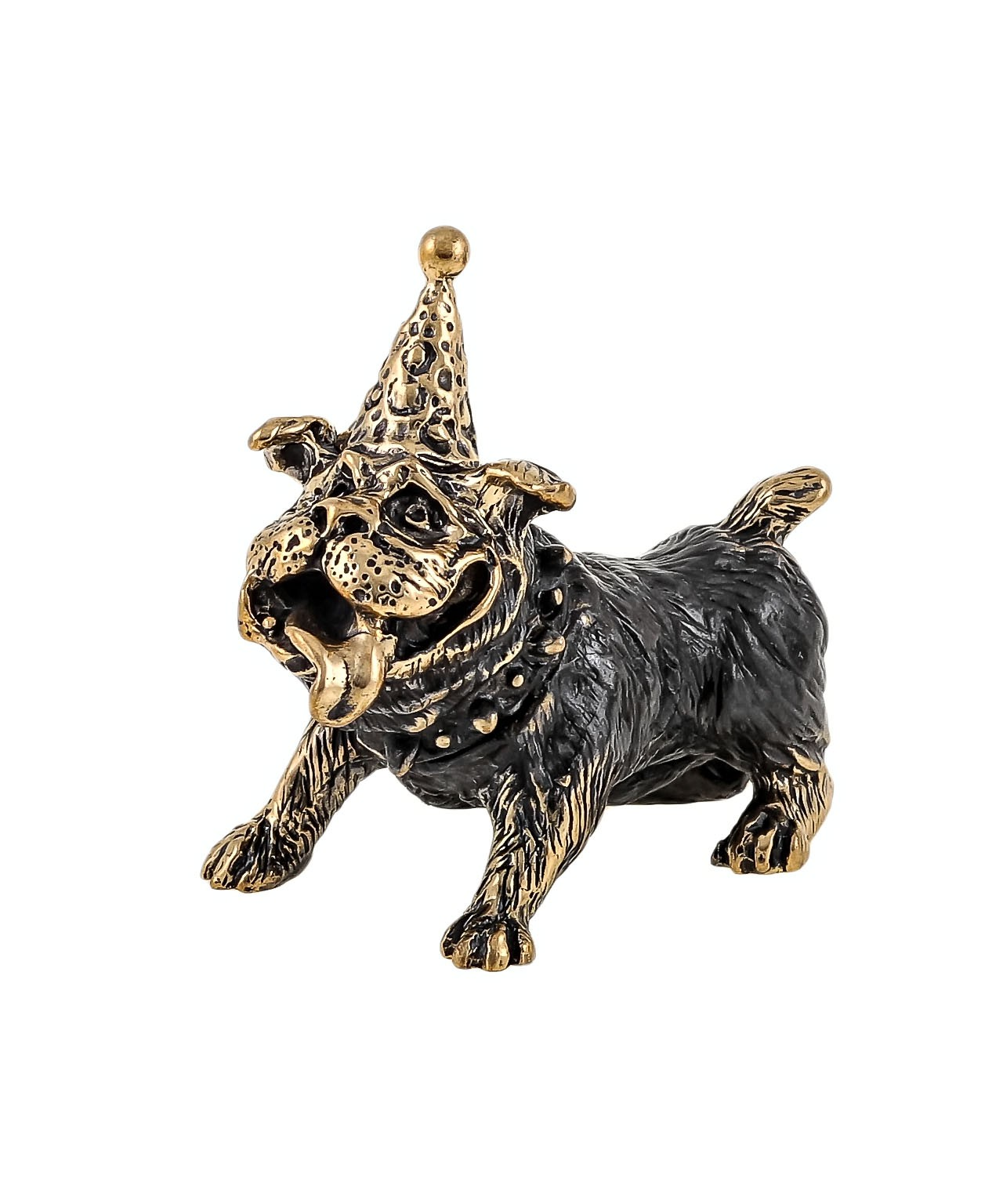 Собака с праздником без подставки 1602.1