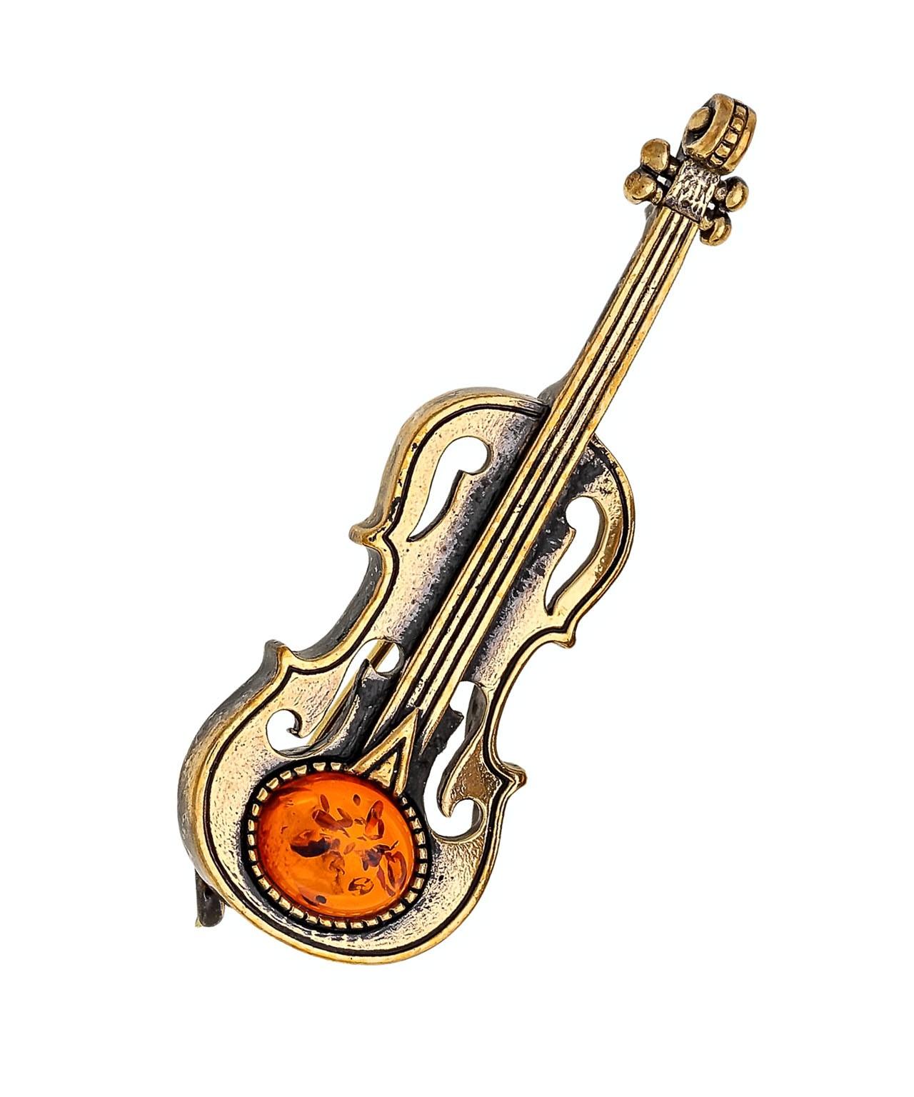 Брошь Скрипка Вивальди 1657.4