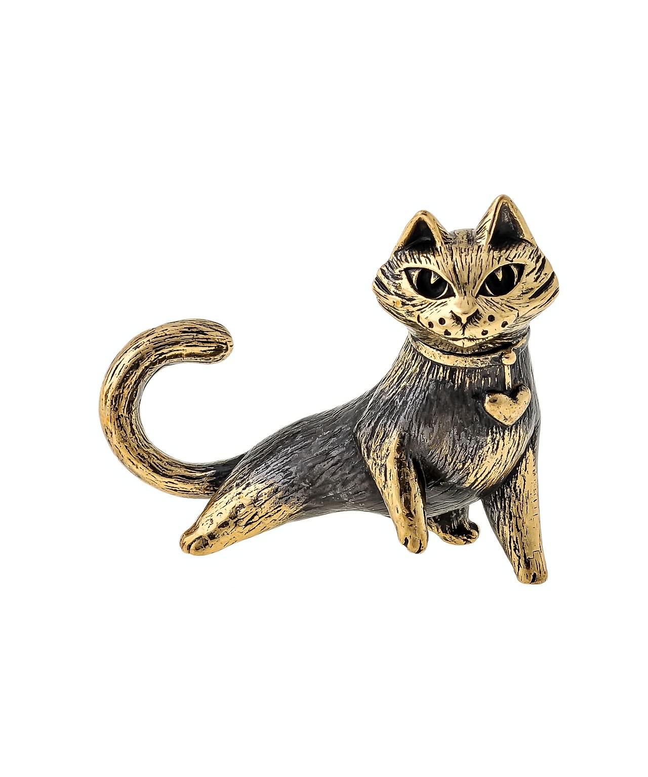 Кошка Сердечко без подставки 1648.1