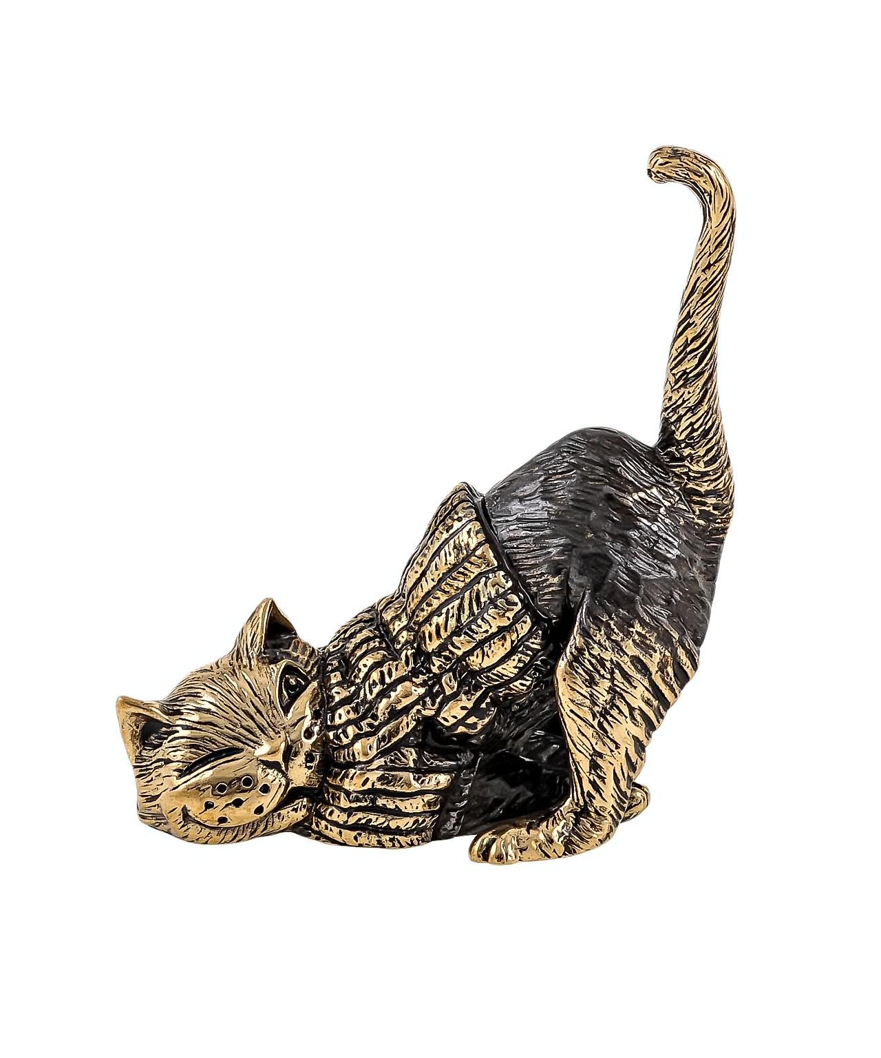 Кот В свитере ленится без подставки 1652.1