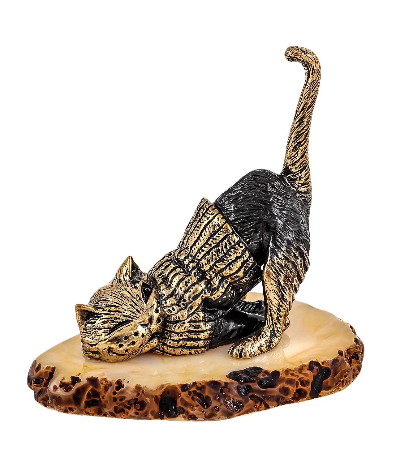 Кот В свитере ленится 1652