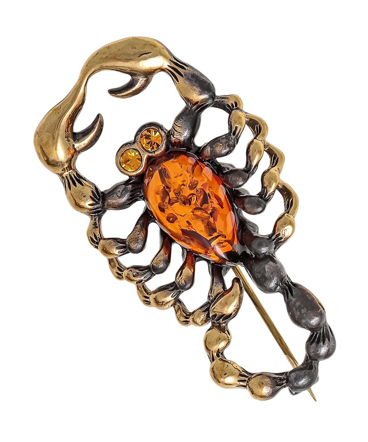 Брошь Скорпион Хранитель 1665.4