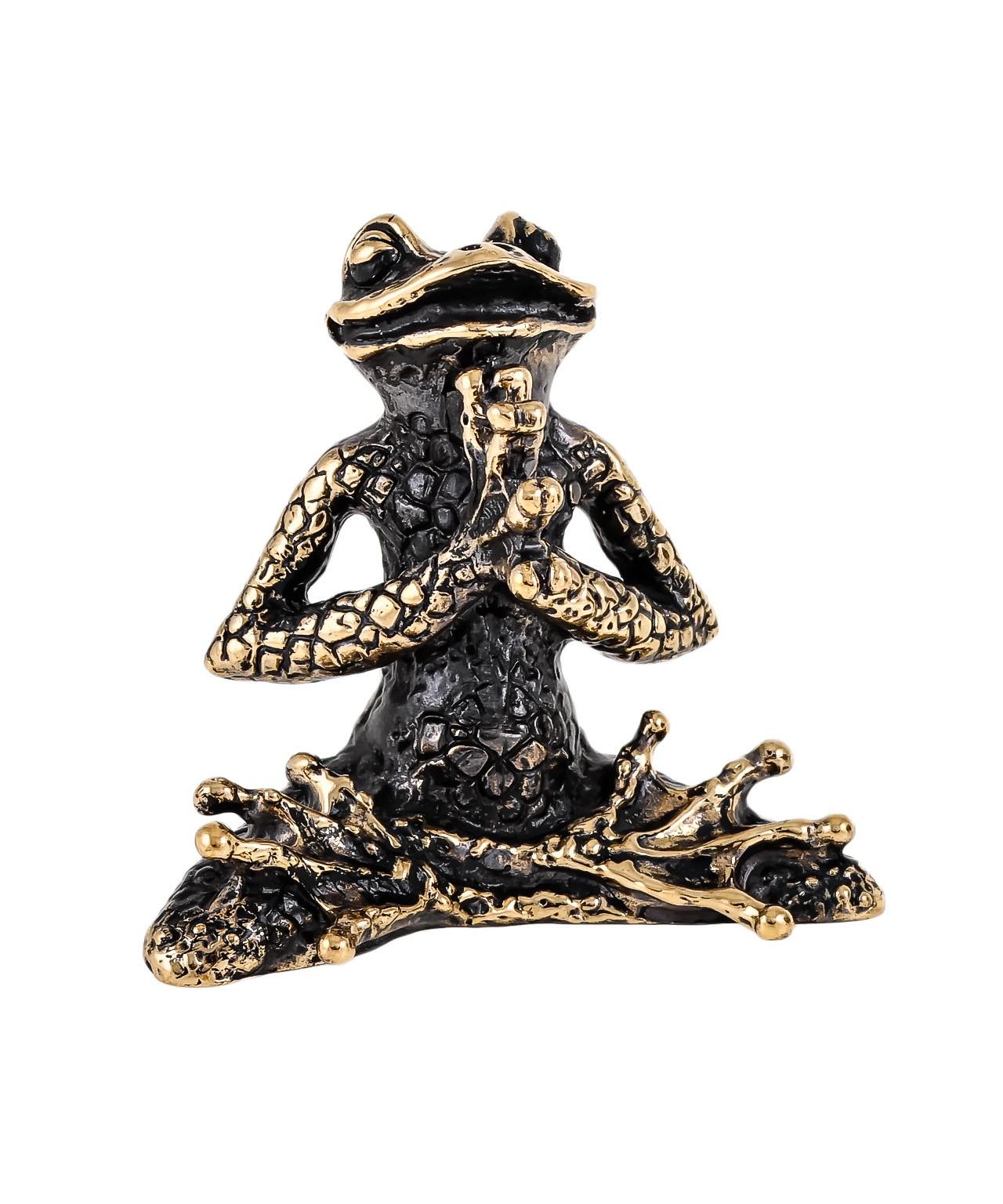Лягушка Йога Лотос без подставки 1674.1