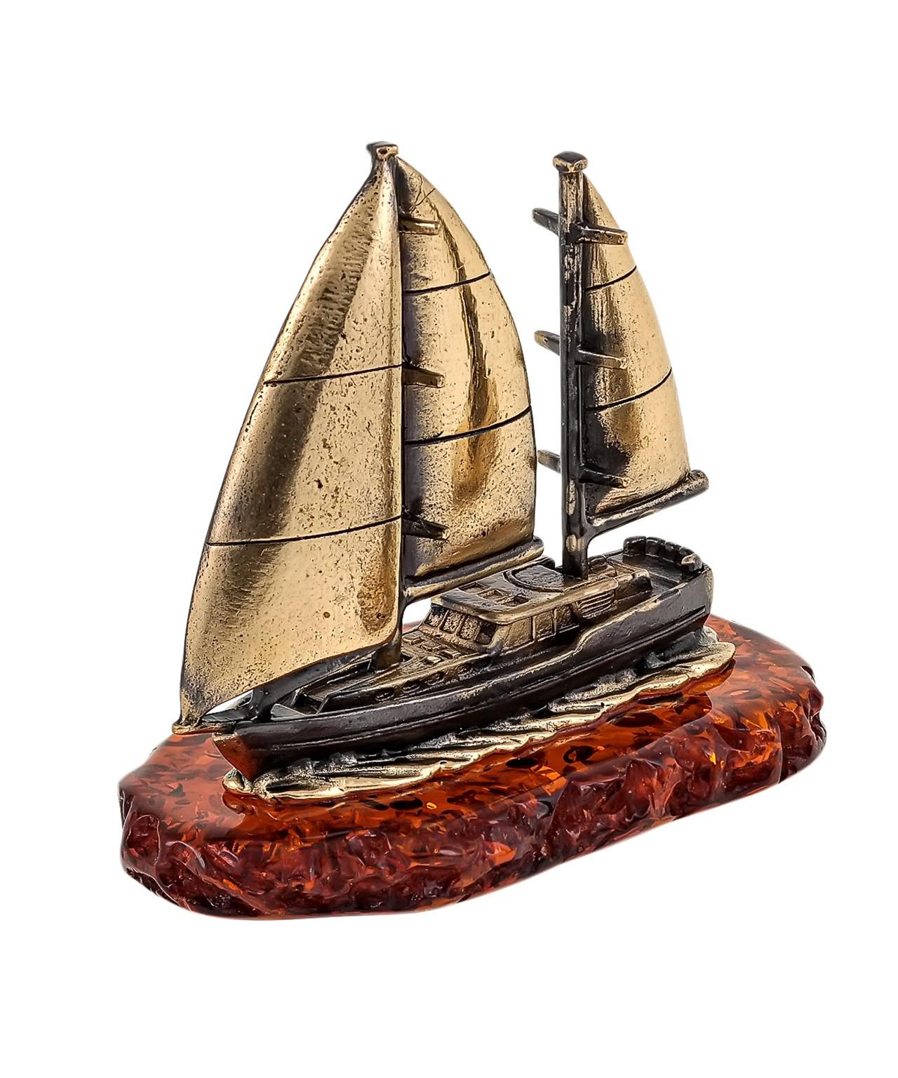 Корабль Яхта Волна 1684