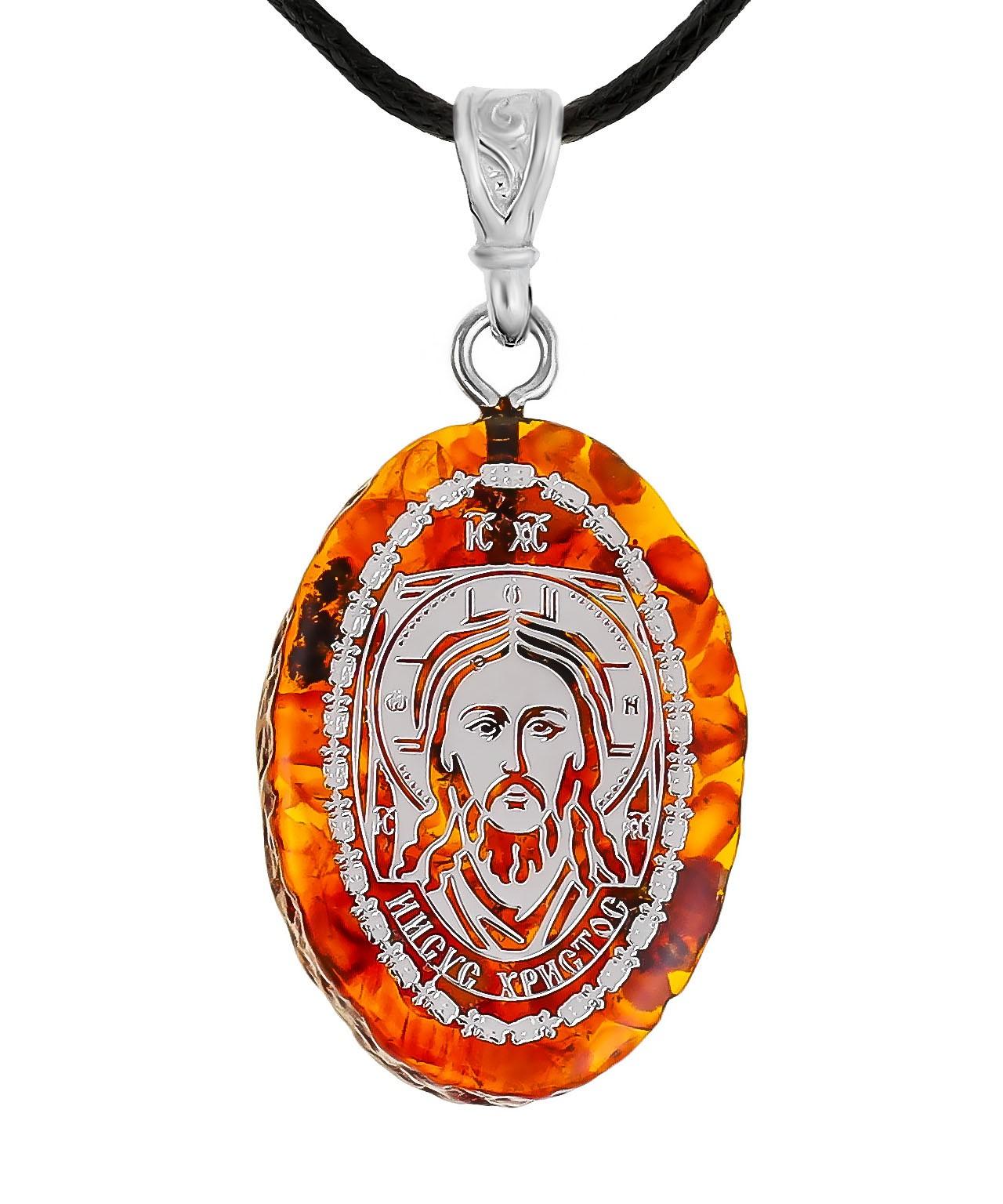 Подвеска Икона Иисус Христос 1698.5.13