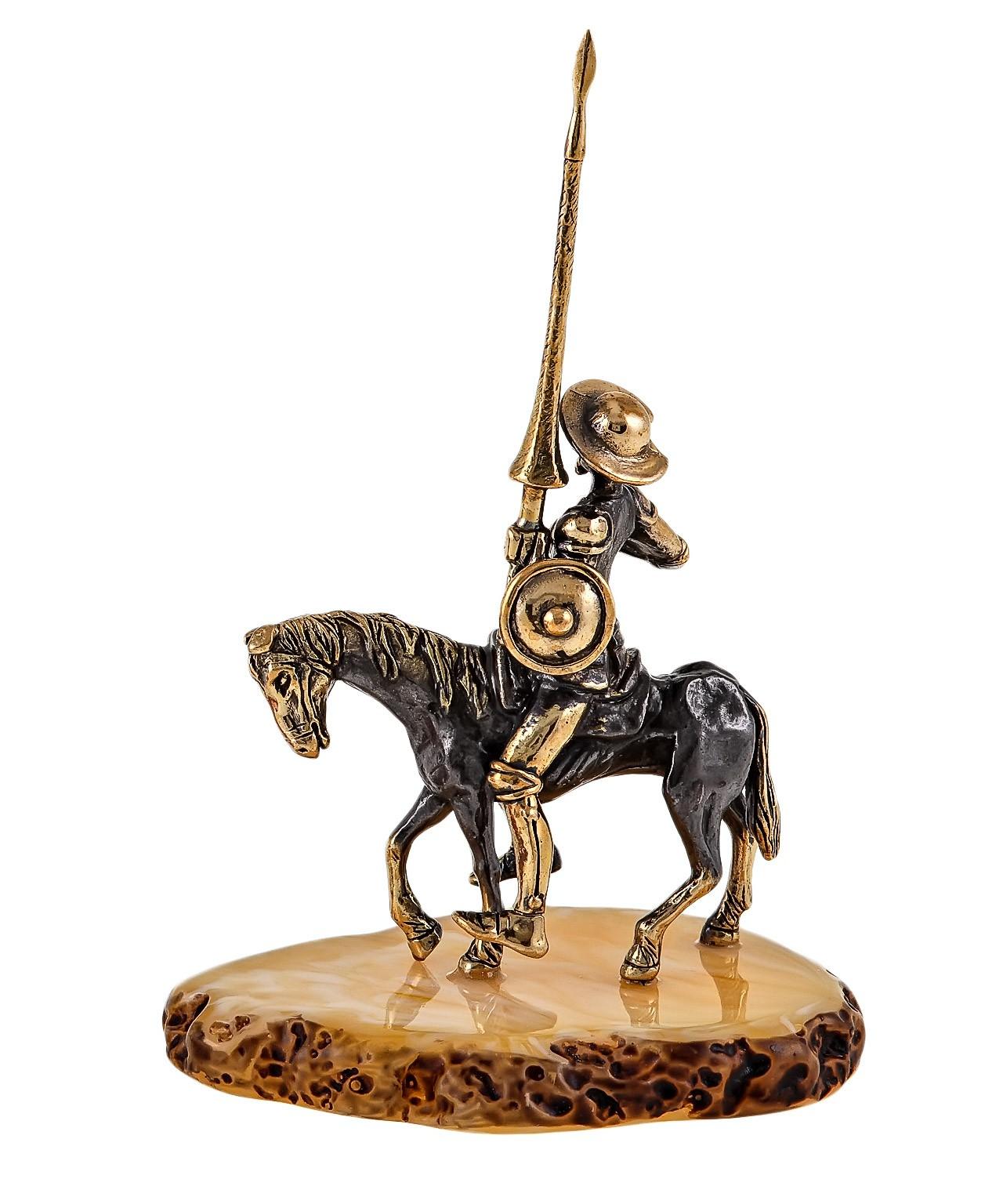Дон Кихот на коне 1734