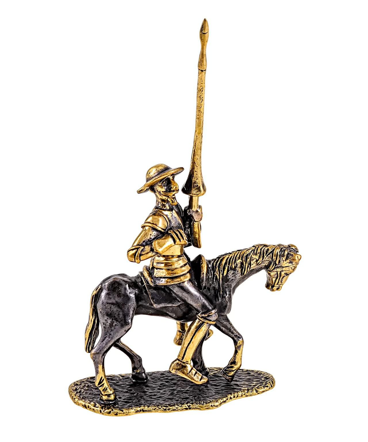 Дон Кихот на коне без подставки 1734.1
