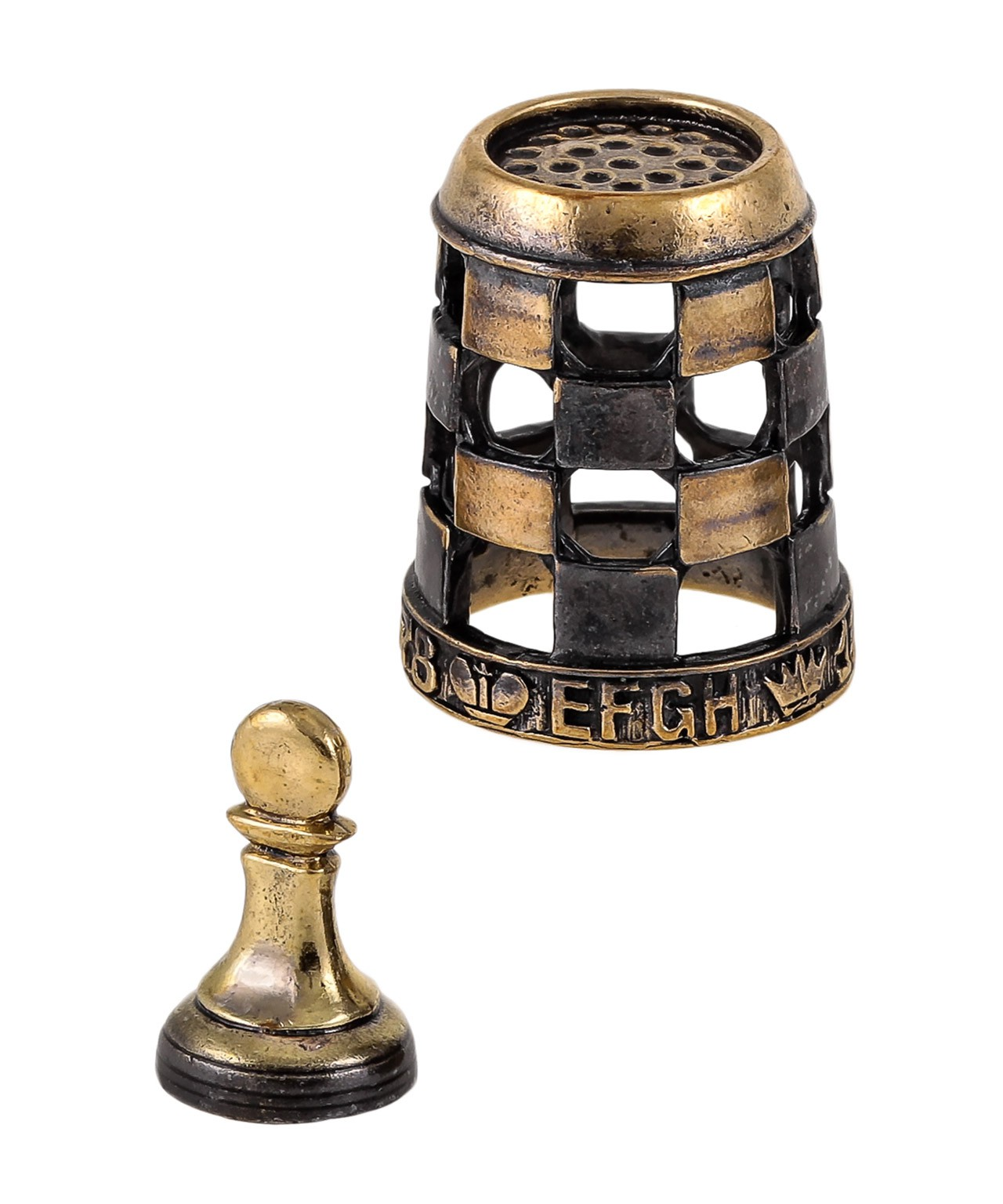 Наперсток Шахматы Пешка 1738.5