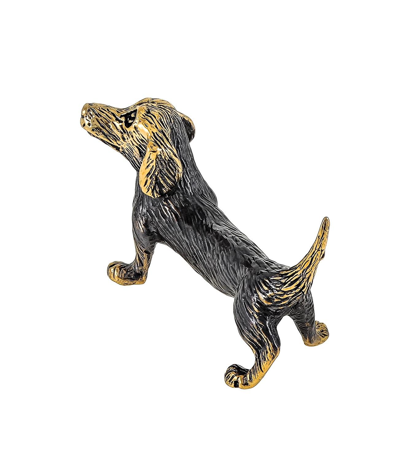 Собака Такса Паро без подставки 1803.1