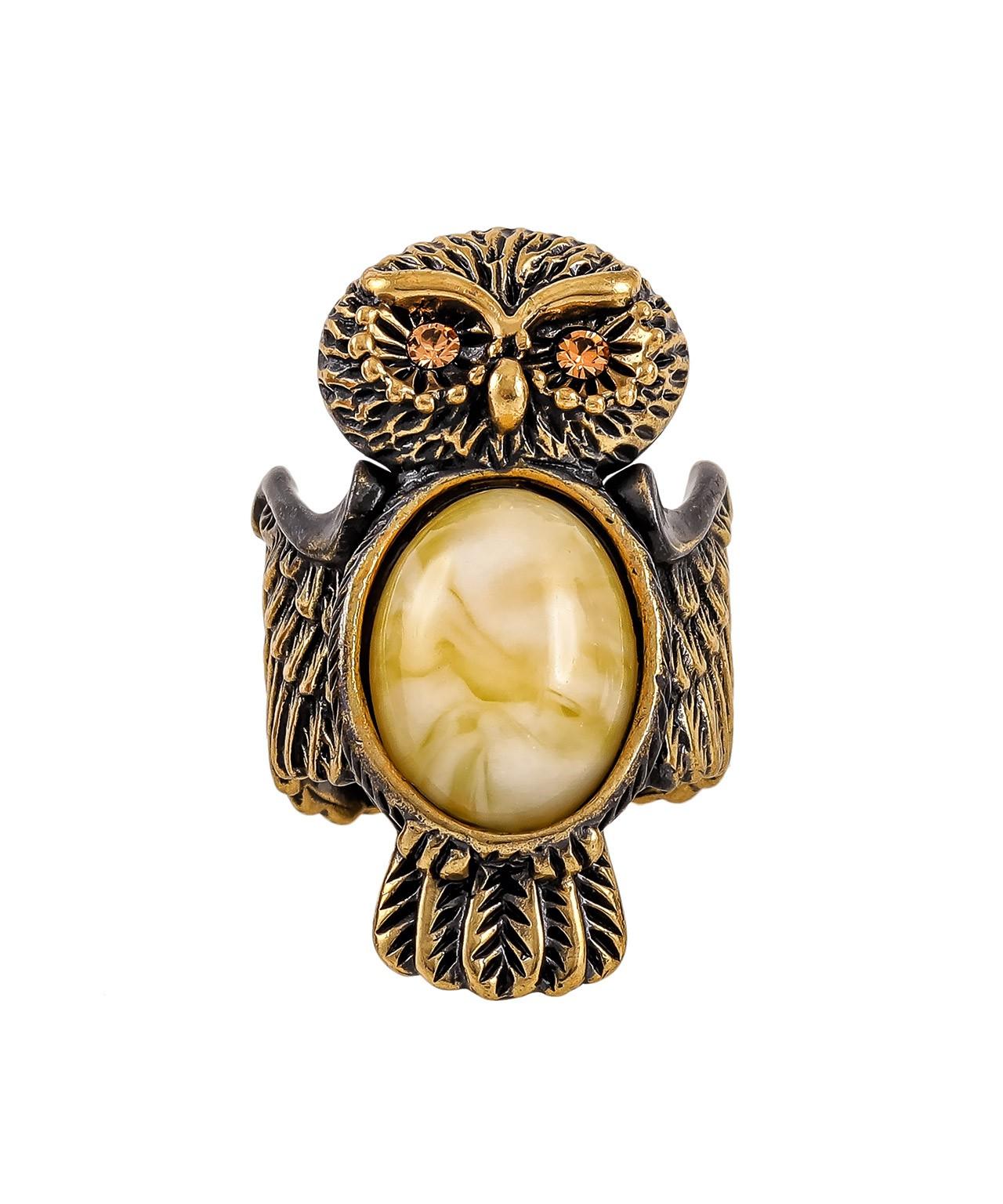 Кольцо Совушка 1843К