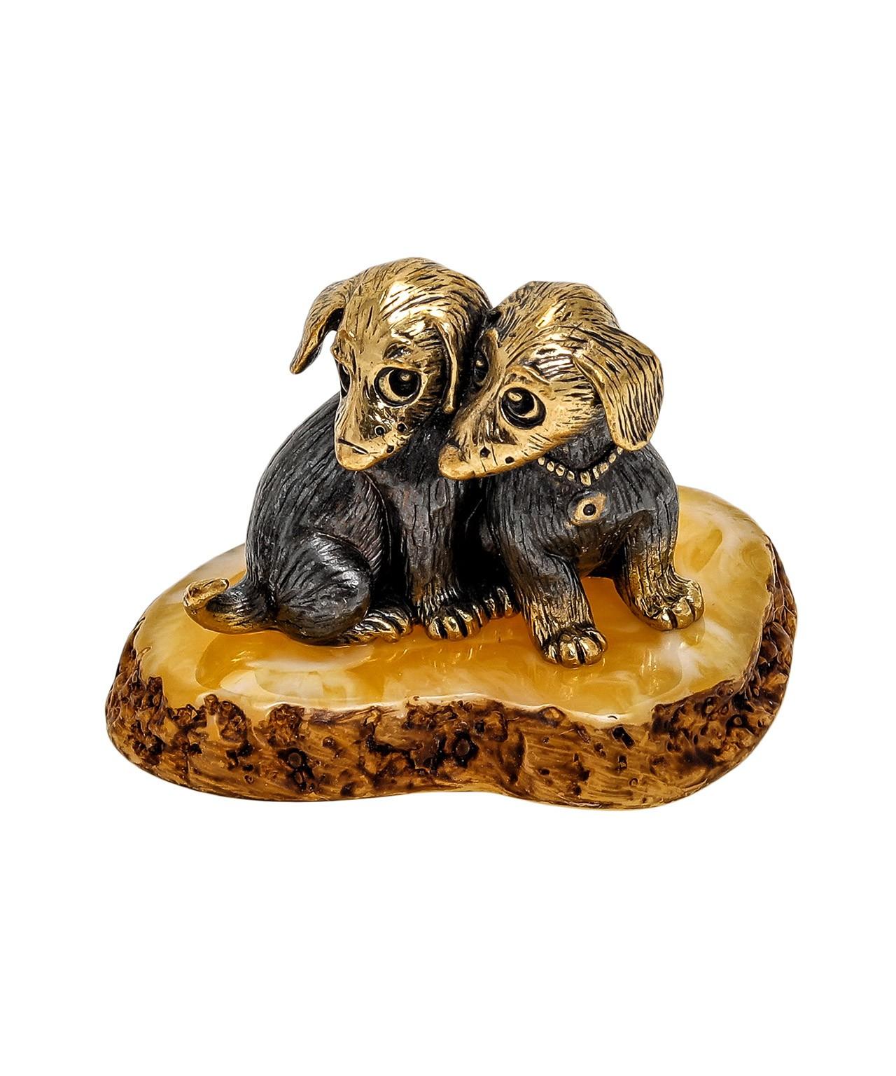 Собаки Щенята 1860
