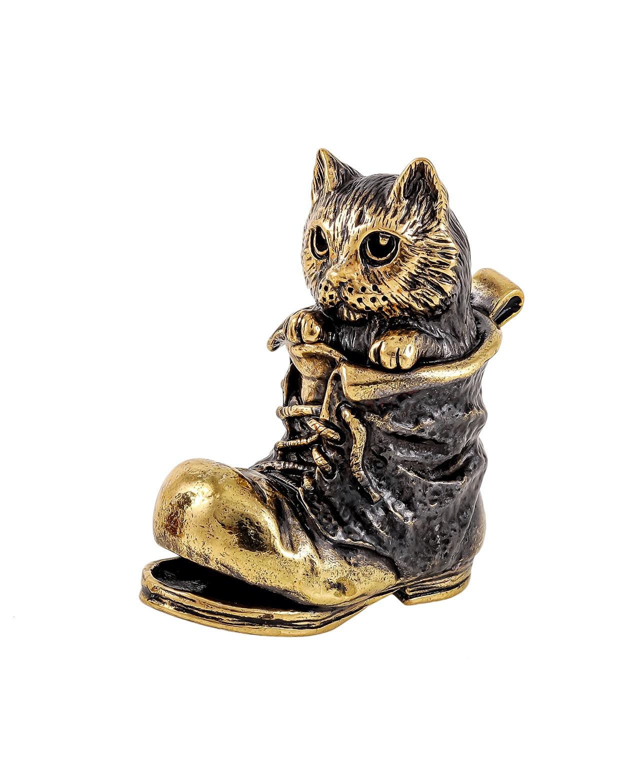 Котик в башмаке без подставкип 1876.1