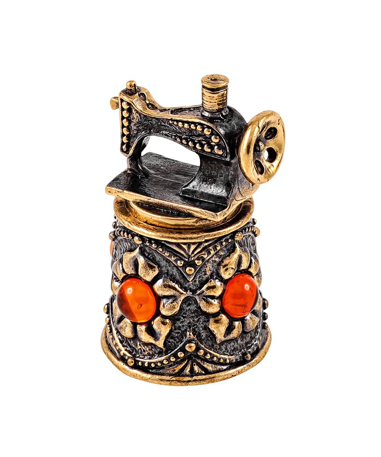 Наперсток Ажурный с швейной машиной 1904.1
