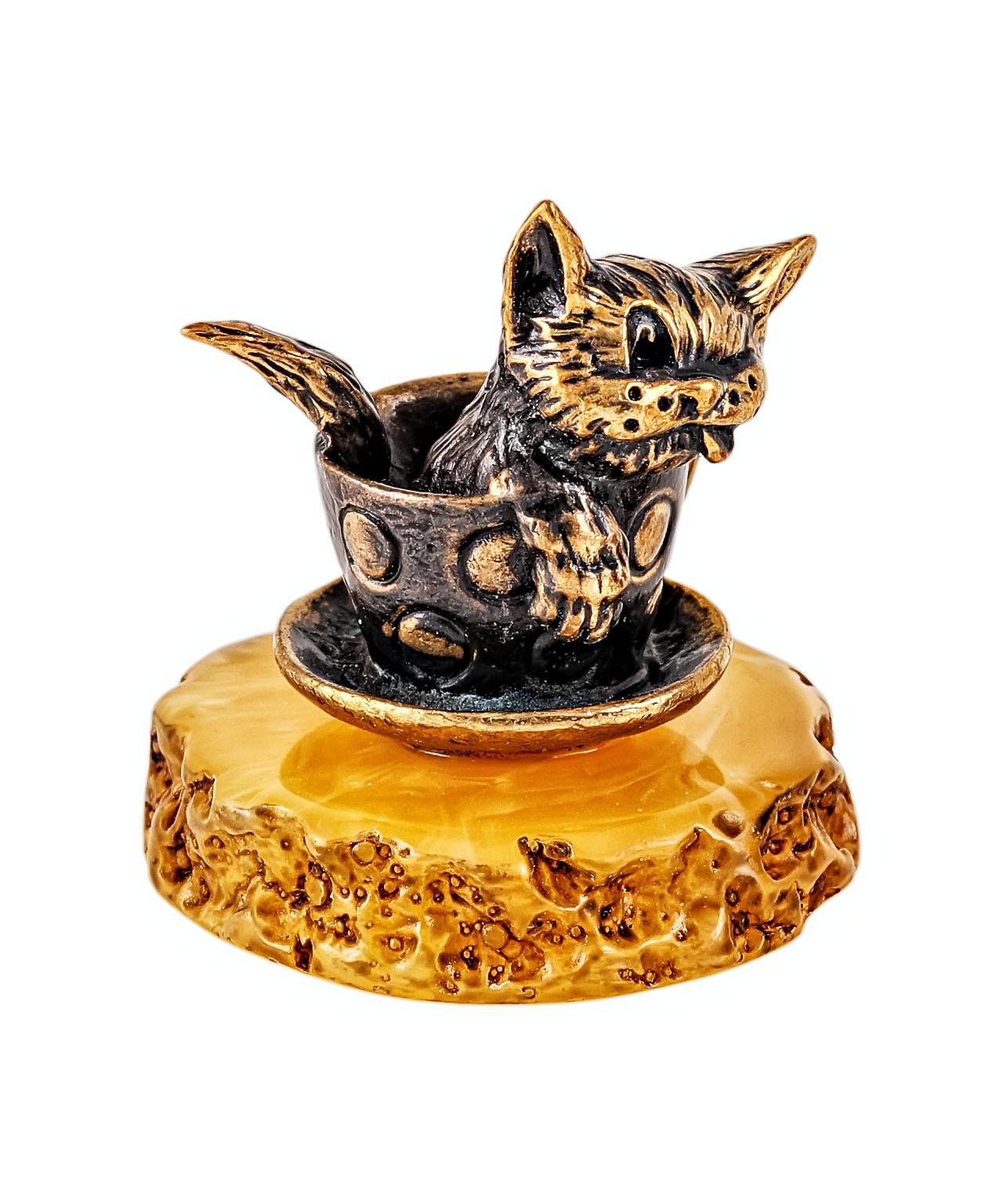 Котик в чашке 2036