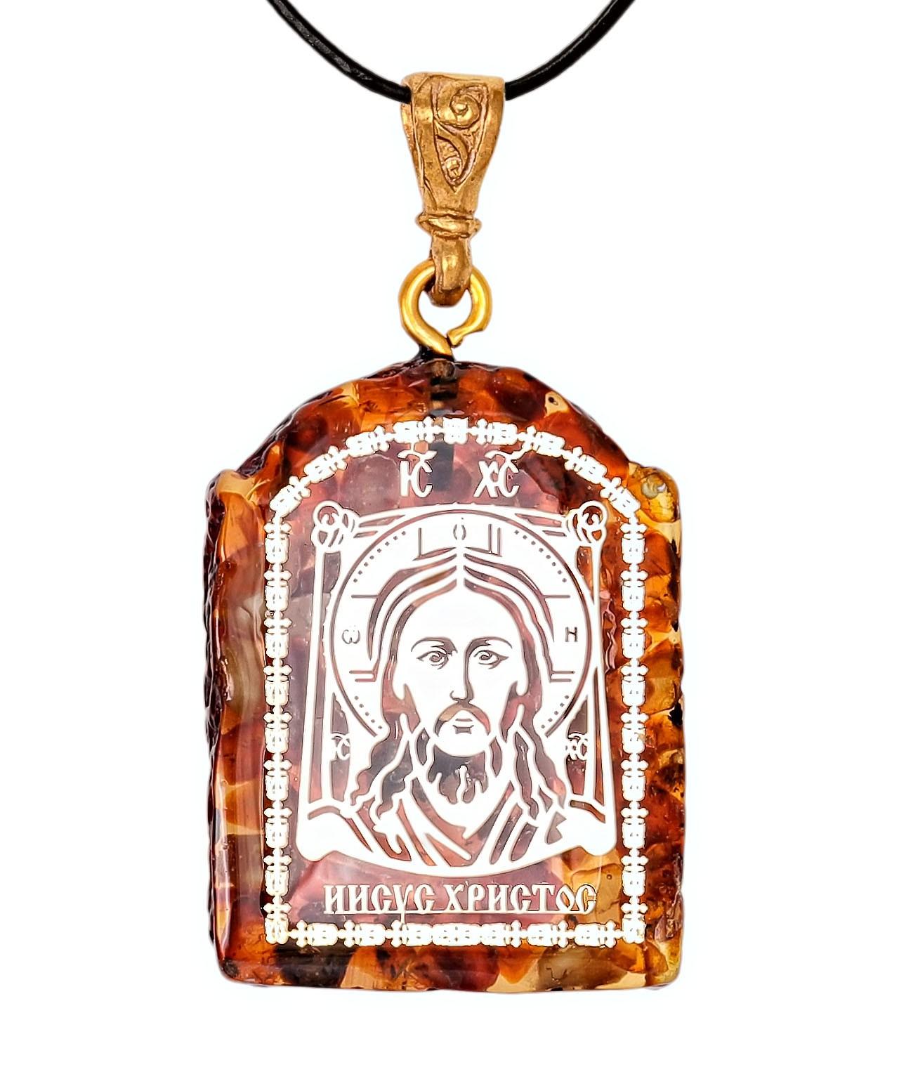 Подвеска Иконка Иисус Христос 2052.4.5