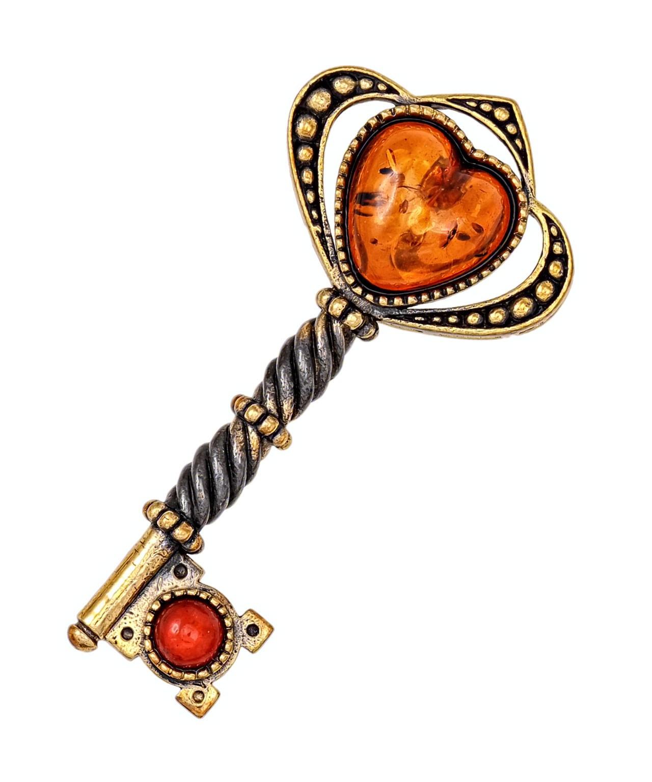 Брошь Ключ от сердца 2125.4