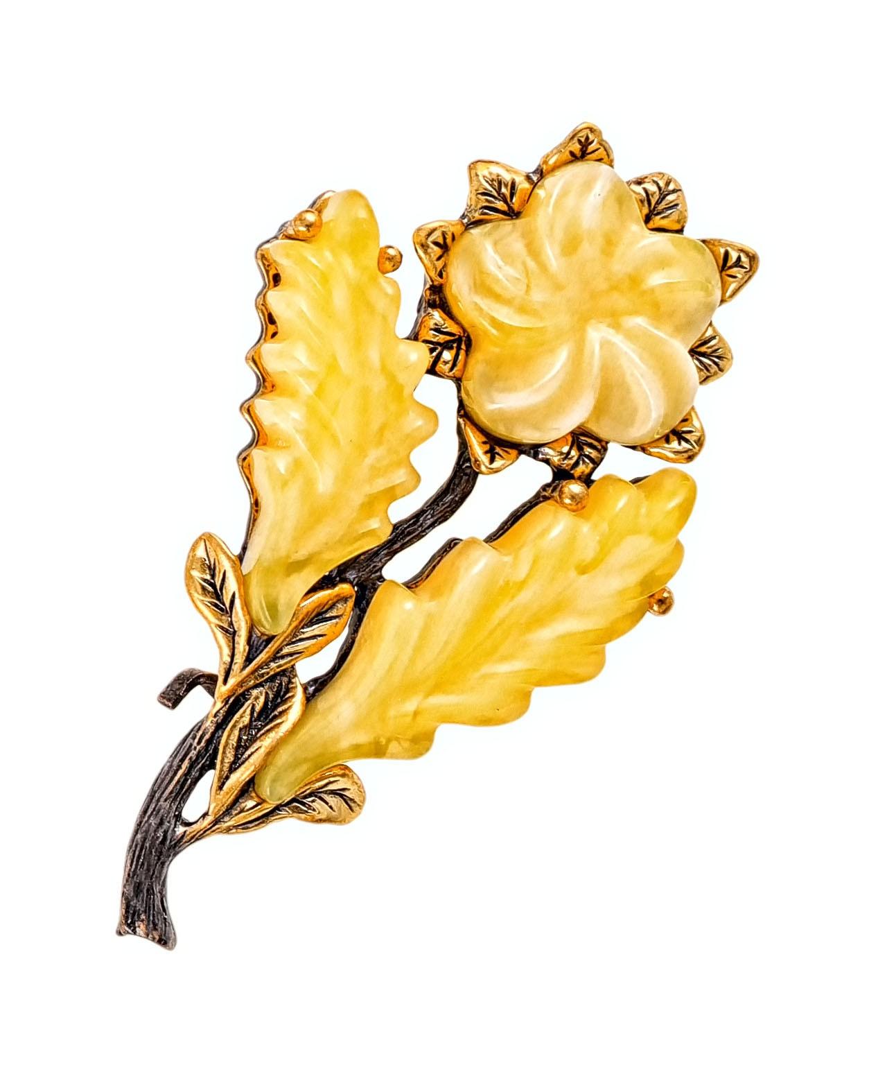 Брошь Цветок Азалия 2138.4