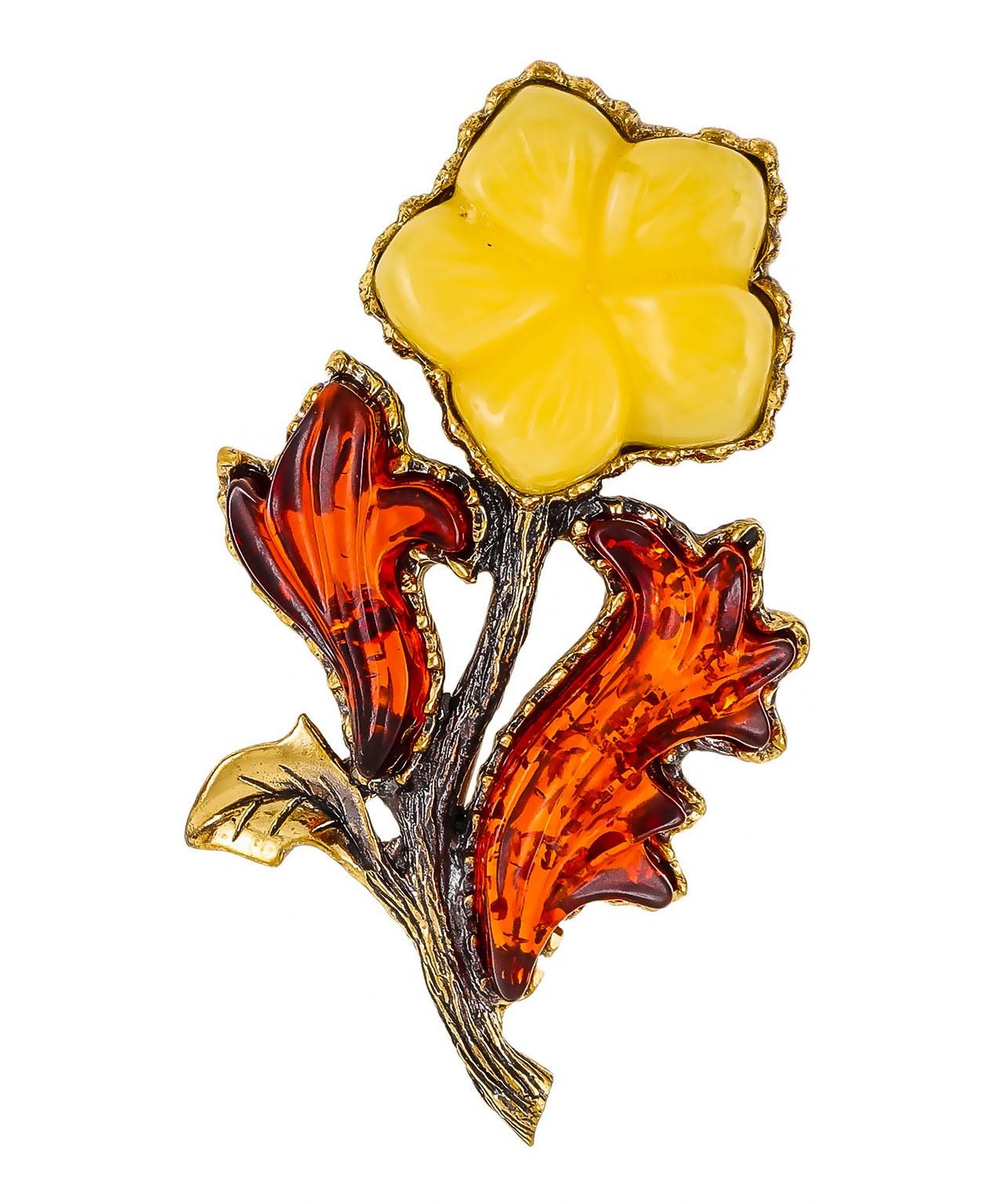 Брошь Цветок Брования 2140.4