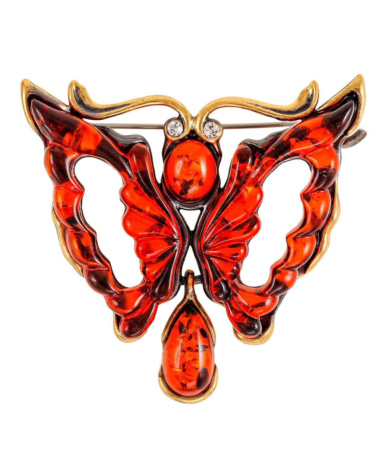 Брошь Бабочка Затмение 2249.4