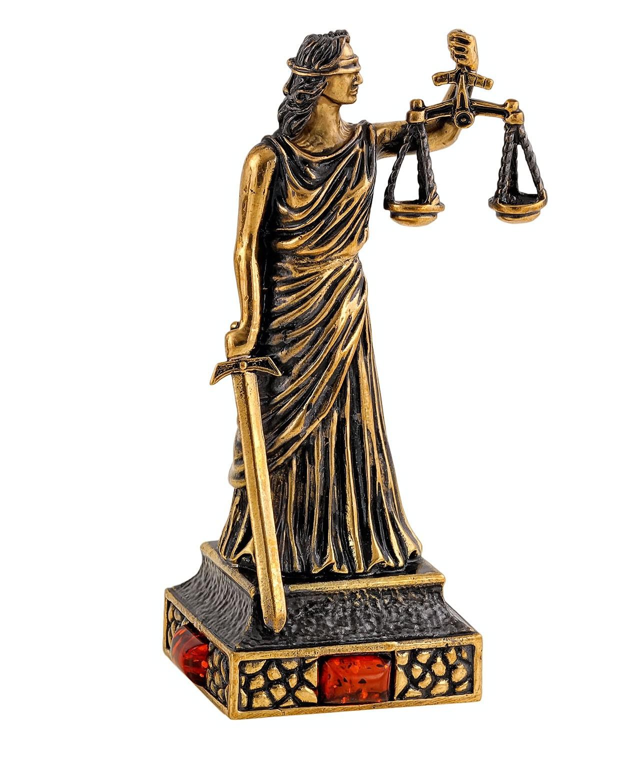 Богиня Правосудия без подставки 2258.1