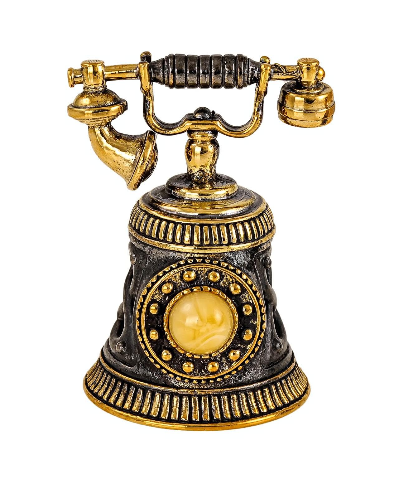 Колокольчик Телефон винтажный 2319