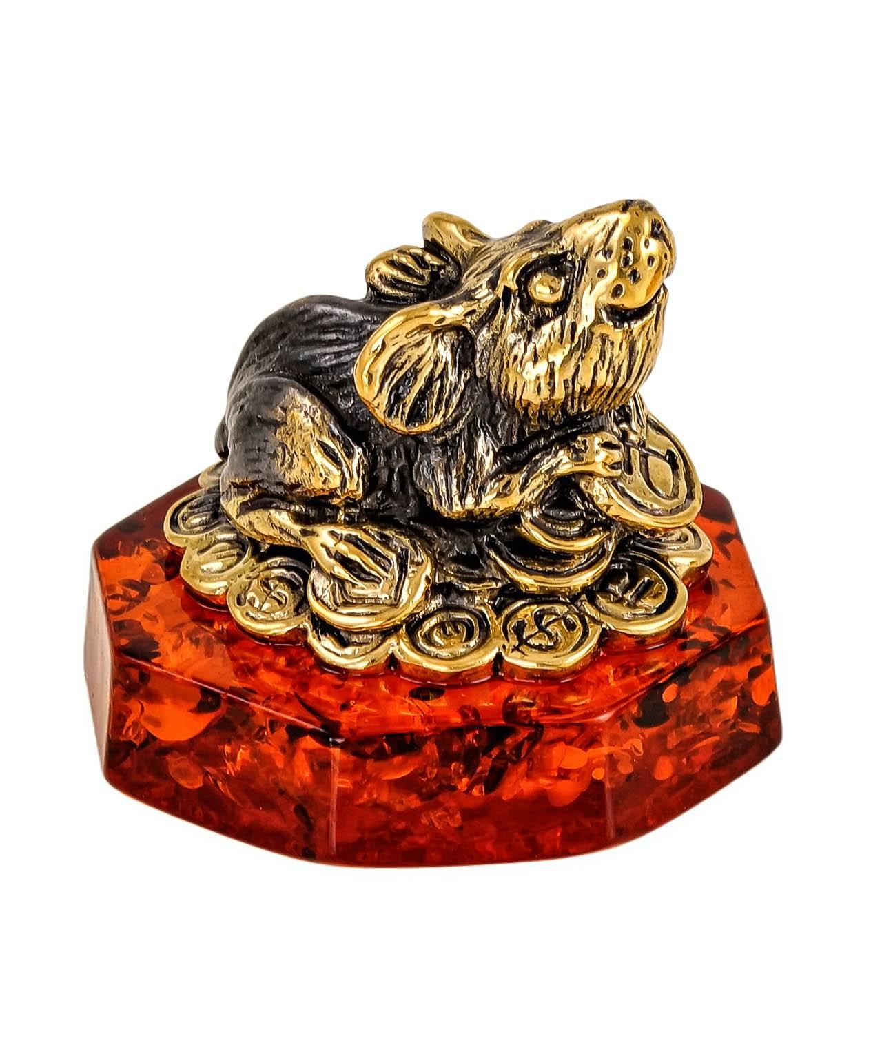 Мышь Фен-шуй на монетках 2356