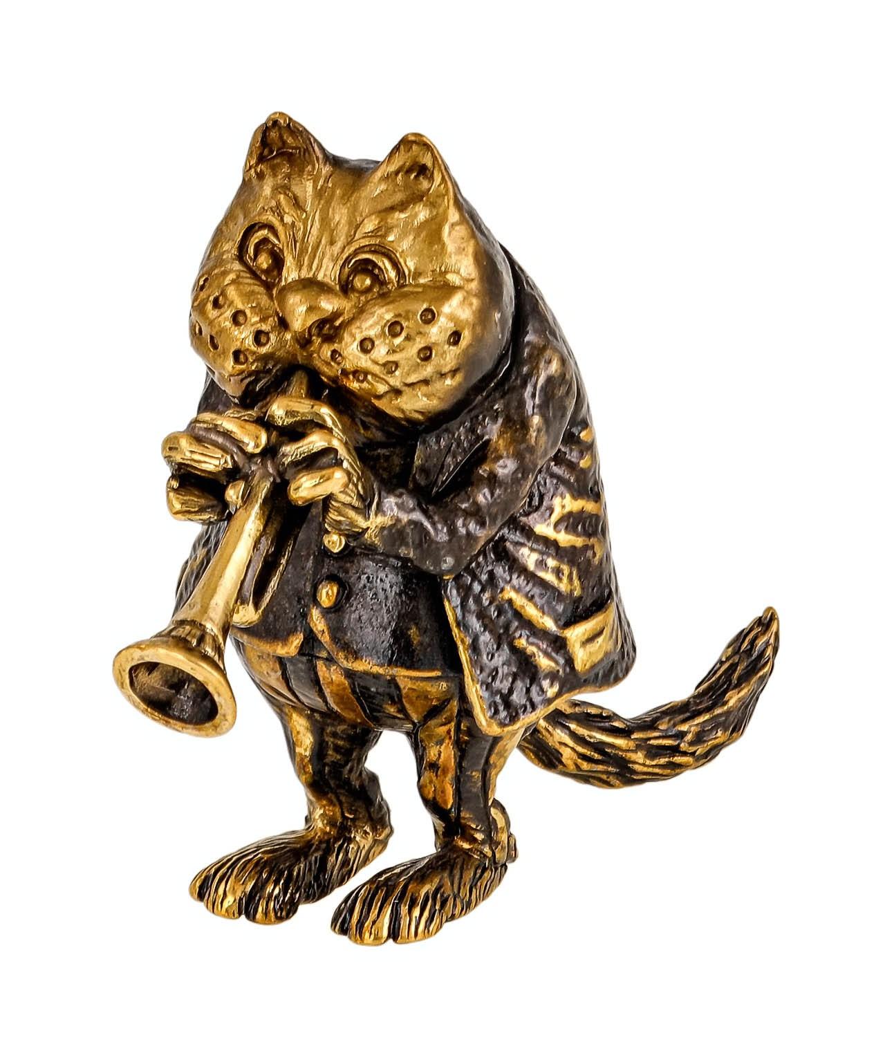 Кот с Горном без подставки 2357.1