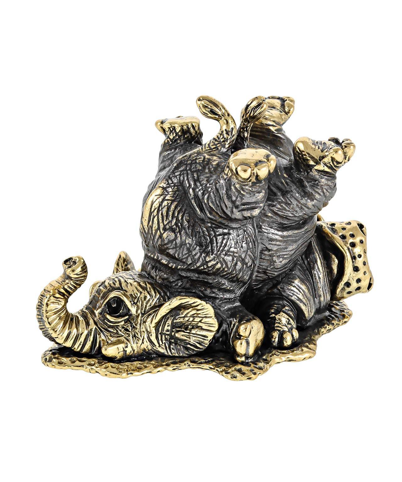 Бегемот и слон друзья без подставки 2557.1