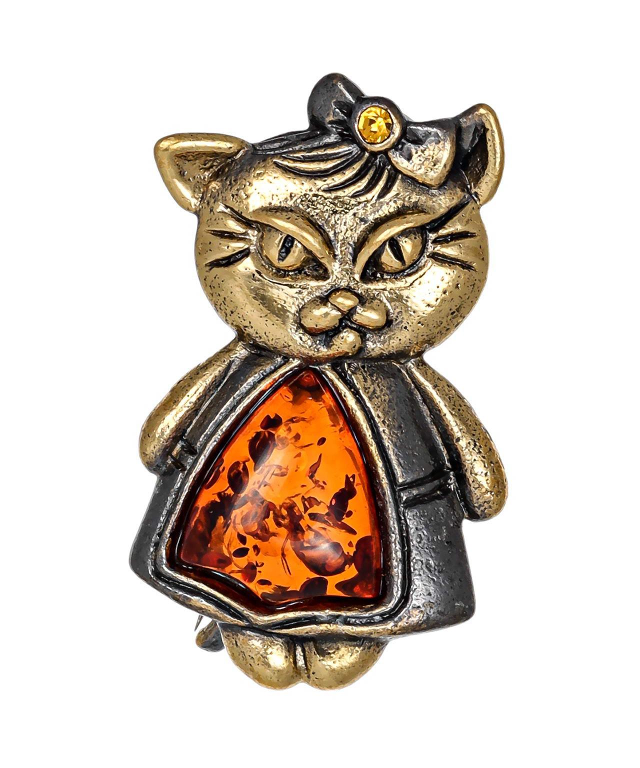 Брошь Кошка Ури 2617.4