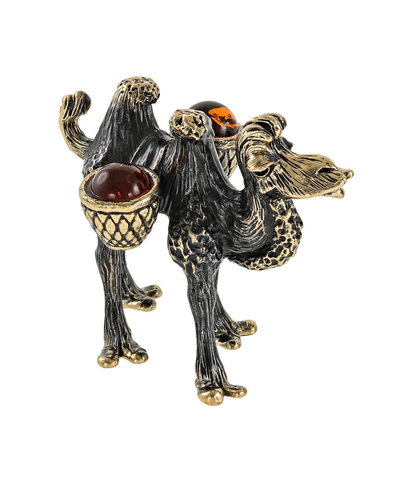 Верблюд папа с поклажей без подставки 2652.1