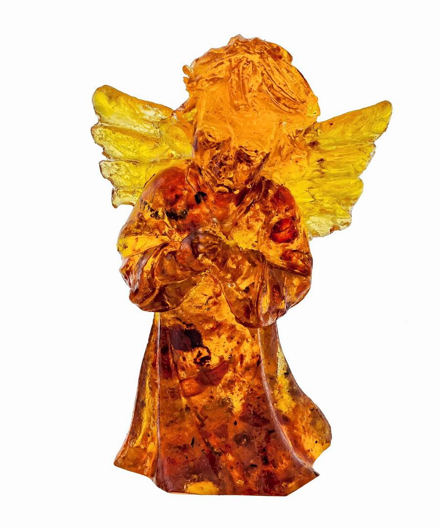 Ангел  янтарный 1367