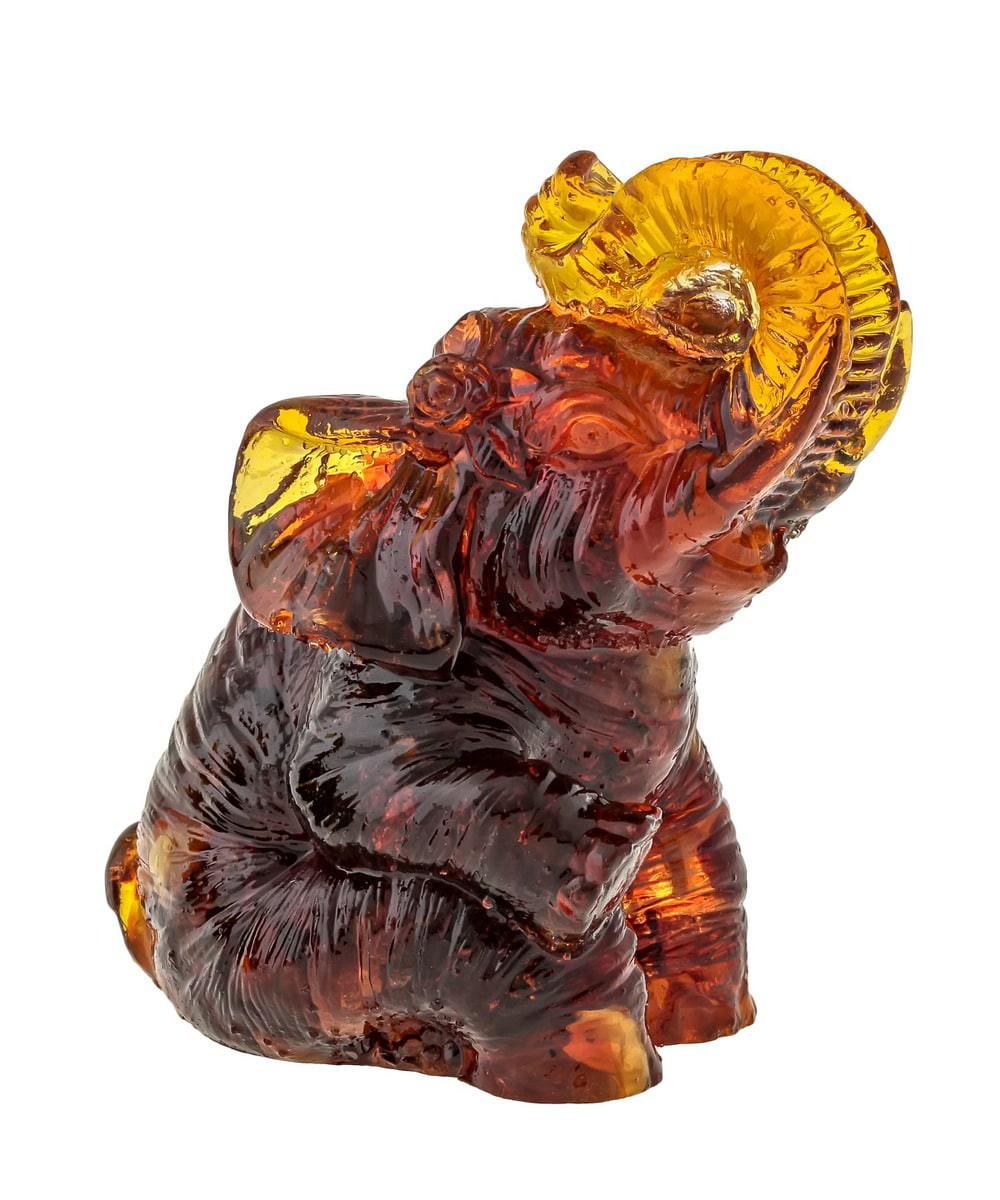 Слон Полли Янтарный 664