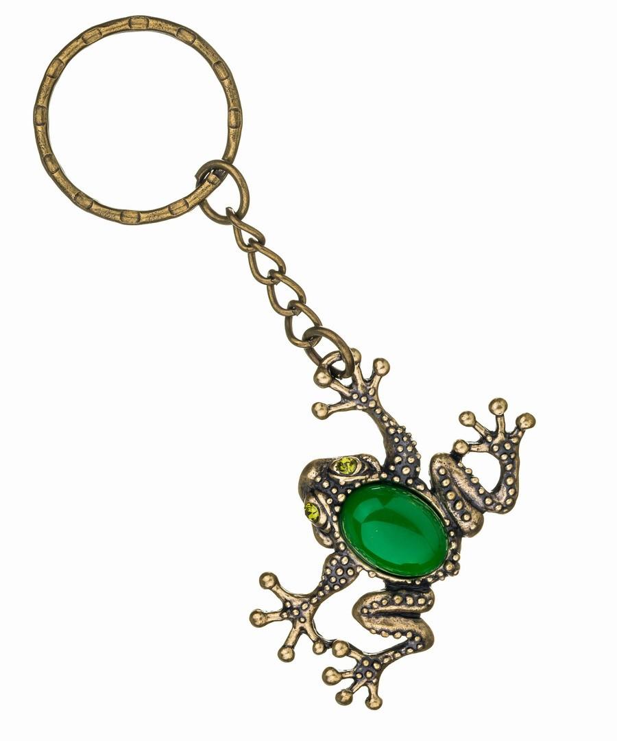 Брелок Лягушка-жаба на лапке 394