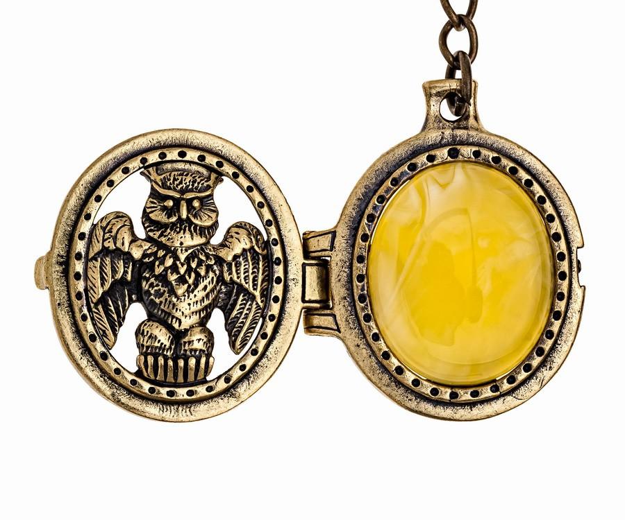Брелок Медальон Филин 1018
