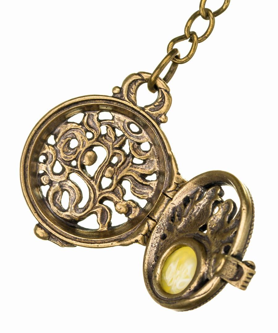 Брелок Медальон Голубки 596