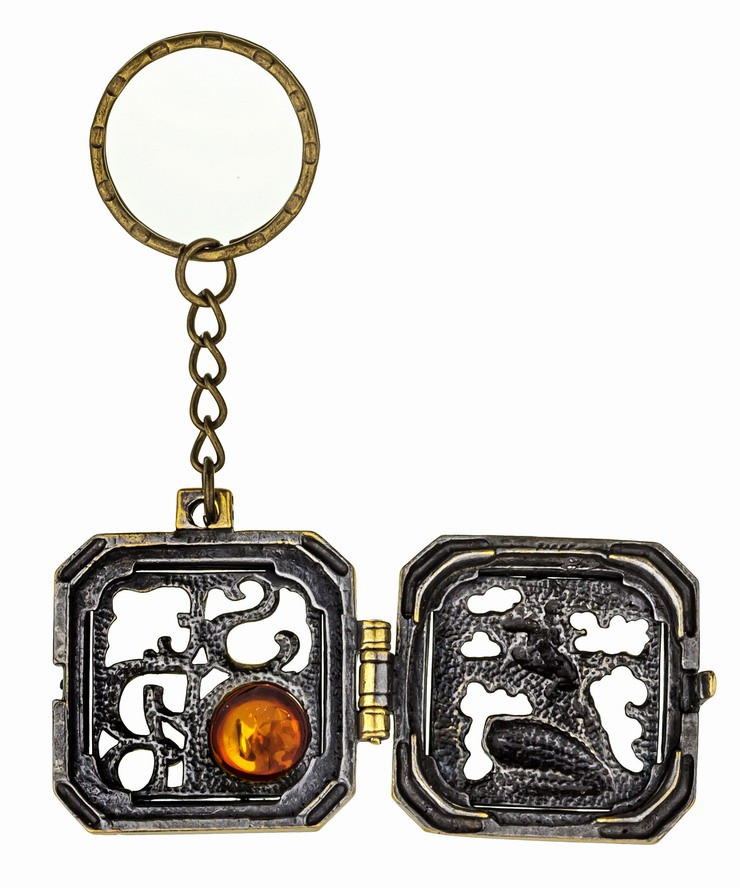 Брелок Медальон СПБ 952