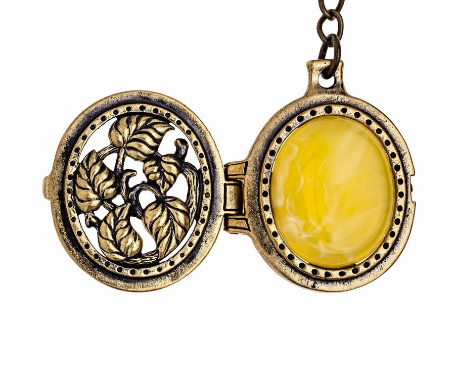 Брелок Медальон Вьюнок 1017