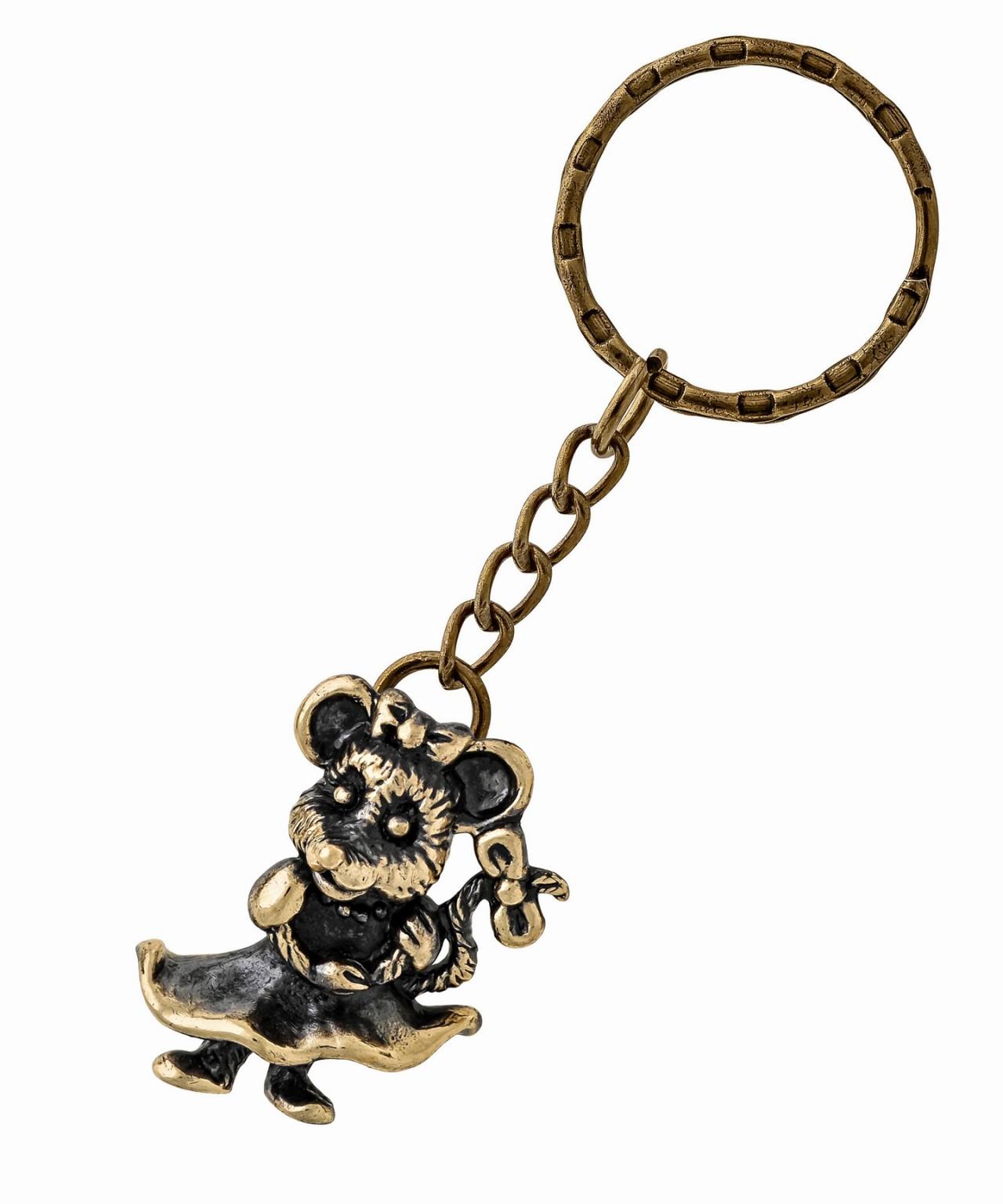 Брелок Мышь Красотка 1491.2