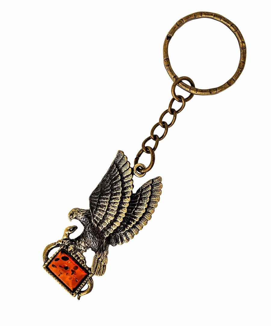 Брелок Орел со змеёй 1189