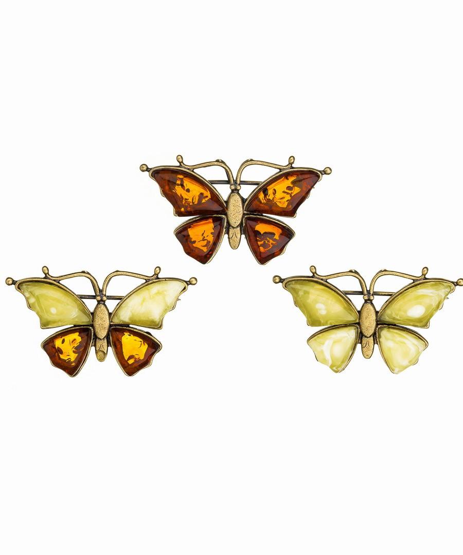 Брошь Бабочка 378.4