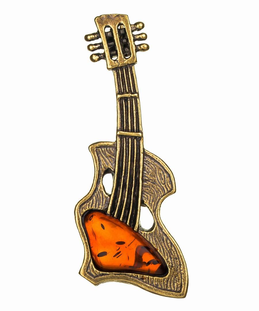 Брошь Гитара 616.4
