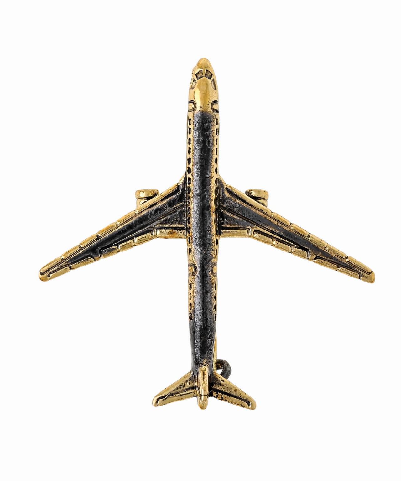 Брошь Самолет ТУ-154 1587.4