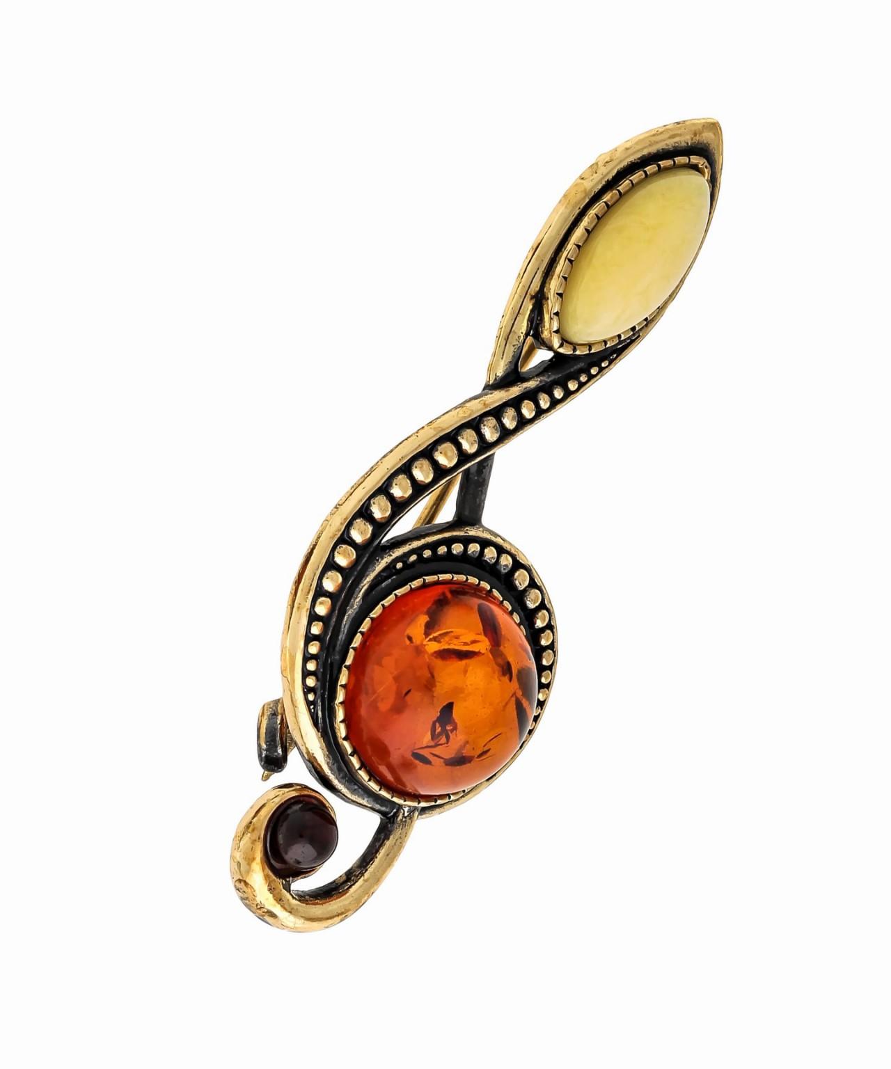 Брошь Скрипичный Ключ 1571.4